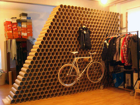 Then Consider Cardboard For Low Cost Interior Uses Such As Room Dividers Ceilings Or Wall Finishes Building Those Temporary Structures Eg